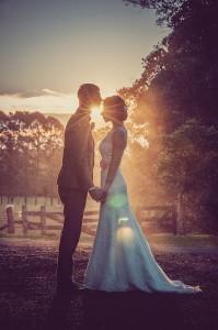 mariage soirée couple