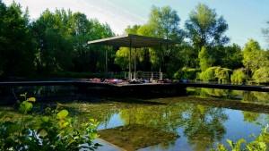 Parc St Pierre cours de pilate detente paysage verdure