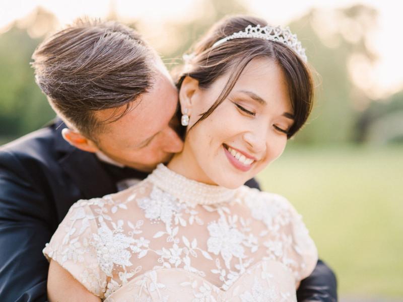 couple mariage chateau du faucon